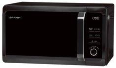 Микроволновая печь Sharp R6852RK (черный)