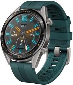 Смарт-часы Huawei WATCH GT 46 mm 1.4 Ceramic bezel (темно-зеленый)
