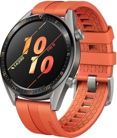 Смарт-часы Huawei WATCH GT 46 mm 1.4 Ceramic bezel (оранжевый)