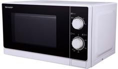 Микроволновая печь Sharp R-2000RW (белый-черный)