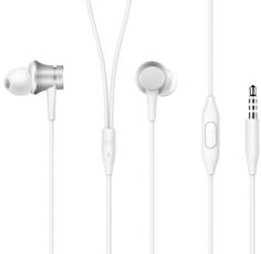 Наушники Xiaomi Mi In-Ear Headphones Basic (серебристый)