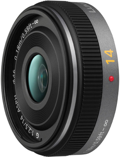 Объектив Panasonic Lumix G Pancake Lens (14 mm, F2.5 Wide-Angle)