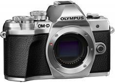 Цифровой фотоаппарат Olympus E-M10 Mark III Body (серебристый)