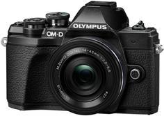 Цифровой фотоаппарат Olympus E-M10 Mark III Kit ED 14-42 EZ (черный)
