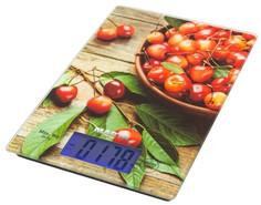 Кухонные весы MARTA MT-1633 (зеленый, коричневый, красный)
