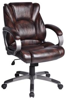 Кресло руководителя BRABIX Eldorado EX-504 (коричневый)