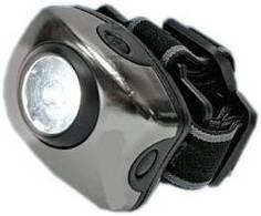 Фонарь налобный Uniel S-HL010-C (серый)