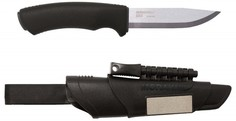 Нож Mora Bushcraft Survival, Нержавеющая сталь 11835 (черный)