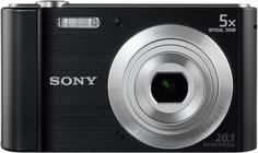 Цифровой фотоаппарат Sony Cyber-shot DSC-W800 (черный)