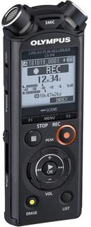 Диктофон Olympus LS-P4 (черный)