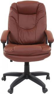 Кресло руководителя BRABIX Trend EX-568 (коричневый)