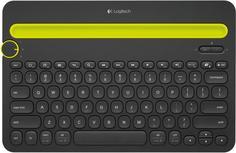 Клавиатура Logitech Bluetooth Multi-Device K480 (черный)