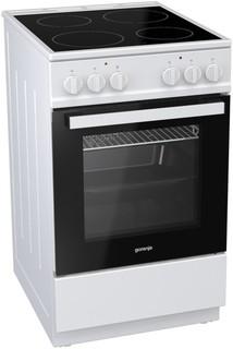 Электрическая плита Gorenje EC5121WG-B (белый)