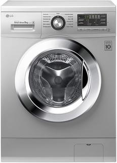 Стиральная машина LG F1296TD4 (серебристый)