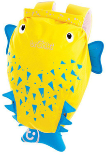 Рюкзак Trunki для бассейна и пляжа Рыба-пузырь (желтый)