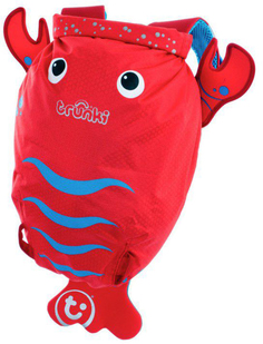 Рюкзак Trunki для бассейна и пляжа Лобстер (красный)