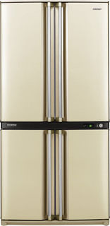 Холодильник Sharp SJF95STBE (бежевый)