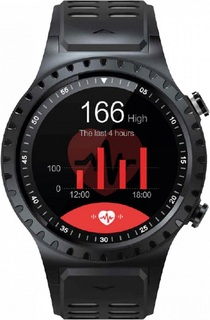 Умные часы GEOZON Sprint (черно-красный)