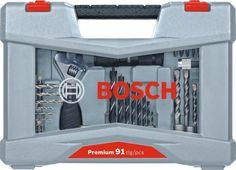 Набор оснастки Bosch Premium Set-91 (2608P00235) 91предмет для шуруповертов