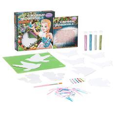Набор для творчества BONDIBON Ёлочные украшения с блёстками (разноцветный)