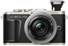 Фотоаппарат со сменной оптикой Olympus E-PL9 Get ready kit (черный)