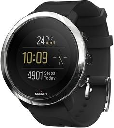 Спортивные часы Suunto 3 Fitness SS050018000 (серебристо-черный)