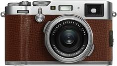 Цифровой фотоаппарат Fujifilm X100F (коричневый)