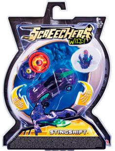 Игровой набор Screechers Wild Машинка-трансформер Стингшифт (фиолетовый)