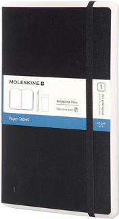 Блокнот Moleskine PAPER TABLET Large 176 стр. (черный)