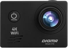 Экшн-камера Digma DiCam 310 (черный)