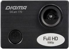 Экшн-камера Digma DiCam 170 (черный)