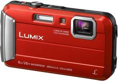 Цифровой фотоаппарат Panasonic Lumix DMC-FT30 (красный)