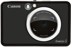 Фотоаппарат моментальной печати Canon Zoemini S (camer 8mp +light ring +print) MATTE BLACK