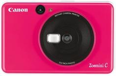 Фотоаппарат моментальной печати Canon Zoemini C (camera 5mp + print) BUBBLE GUM PINK