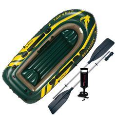 Лодка Intex Seahawk 3 Set (до 360кг) 295х137х43см + весла/насос