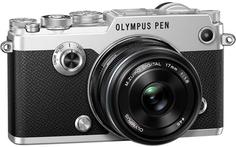 Фотоаппарат со сменной оптикой Olympus PEN-F 1718 Kit 17 1:1.8 (серебристый)