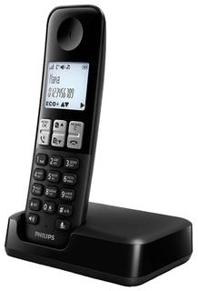 Радиотелефон Philips D2301B/51 (черный)