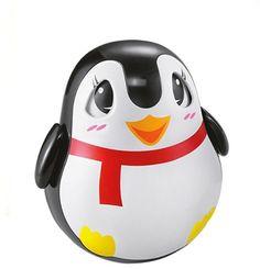 Развивающая игрушка ZHORYA Пингвин-неваляшка (черный)