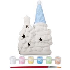 Набор для творчества BONDIBON Ёлочные украшения - снеговик (разноцветный)