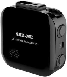 Радар-детектор Sho-me Quattro Signature (черный)