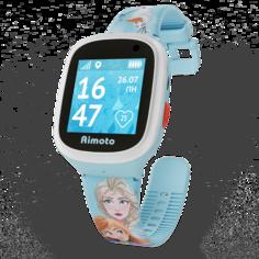 Детские умные часы Кнопка Жизни Disney Холодное сердце + сменный ремешок (голубой)