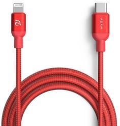 Кабель ADAM Elements USB-C - Lightning 1.2м (красный)