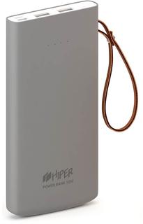Портативное зарядное устройство HIPER Travel10k 10000 мАч (серый)