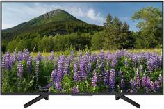 LED телевизор Sony KD-43XF7005 (черно-серебристый)