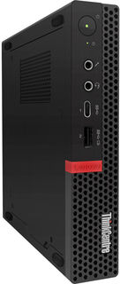 Системный блок Lenovo ThinkCentre M720q Tiny 10T7009YRU (черный)