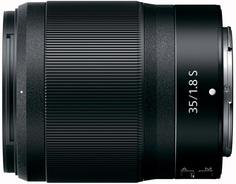 Объектив Nikon NIKKOR Z 35mm f1.8 S (черный)