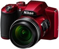 Цифровой фотоаппарат Nikon Coolpix B600 (красный)