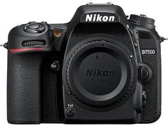 Зеркальный фотоаппарат Nikon D7500 Body (черный)