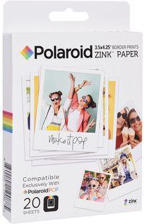 Фотобумага Polaroid Zink POP 3.5x4.25 на 20 фото