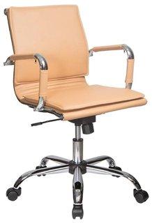 Кресло руководителя Бюрократ CH-993-LOW (светло-коричневый)